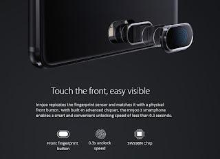 Innjoo 3 Fingerprint sensor