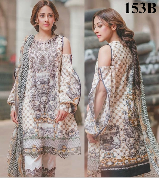 Rang Rasiya Luxury Lawn 2017 Vol-2 Carnation Eid Collection