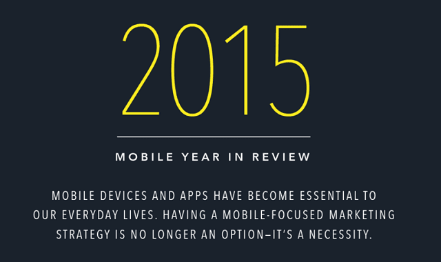 Mobile Year in Review: 14 Eye-Opening Mobile Stats from 2015