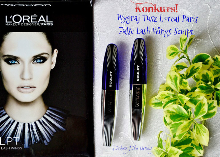 Wygraj tusz do rzęs False Lash Wings Sculpt L'oreal Paris!!!