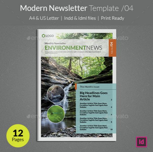 11. Modern Newsletter Template v04