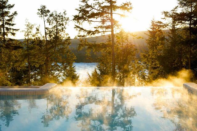 Plaisirs d'hiver : patin, trois skis, spa et massage