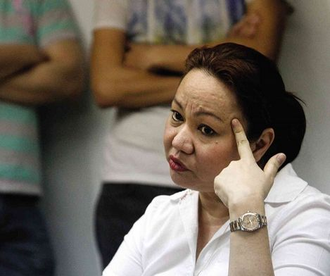 Janet Napoles, the alleged pork barrel scam mastermind.