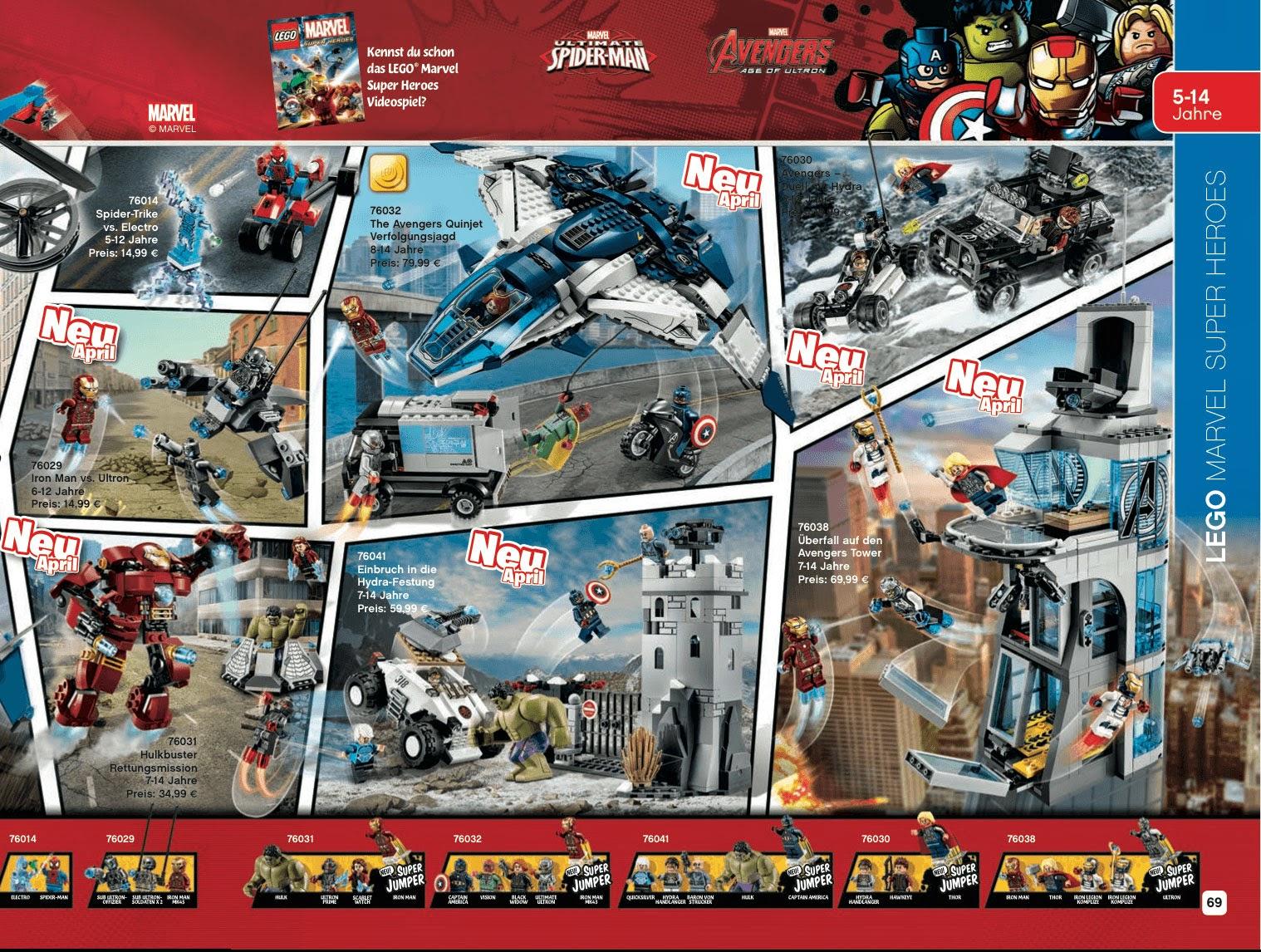 TekSushi™: LEGO The Avengers Age Of Ultron Images Revaled In