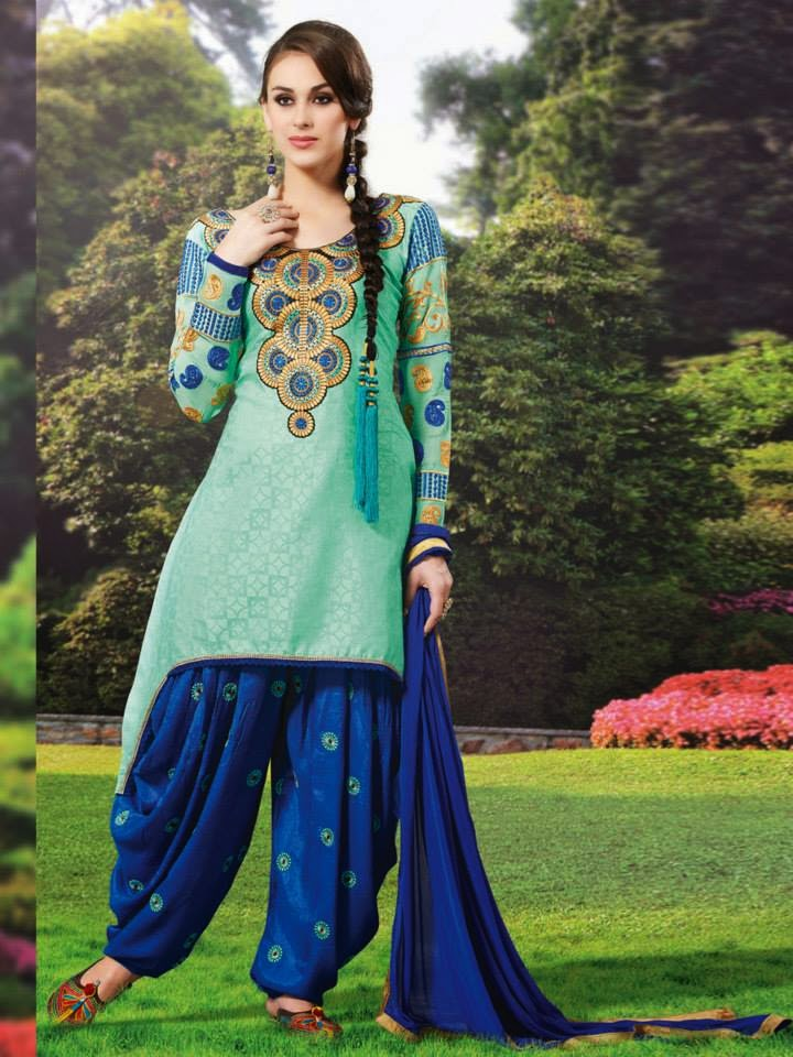 Fabulous & Stylish Patiala Suits For Girls By Natasha Couture From ...