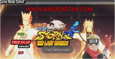 Naruto Senki Mod Apk v2.0 The Last Android Terbaru 2017