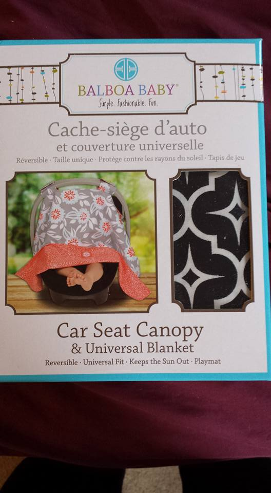 Our son is obviously still in an infant seat so we use a carseat cover which completely covers the seat and zips to open by his head and by feet. & ChitChatMom: Christmas Guide: Balboa Baby Carseat Canopy in Black ...