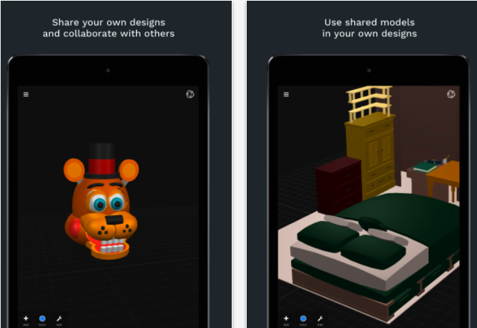 3 very good apps for creating and sharing 3d models 3d modeling app