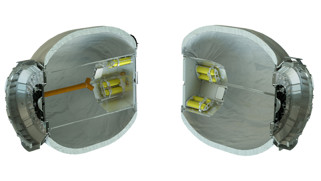 The BEAM module's skin is made up of multiple layers of soft goods