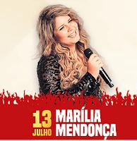 Festa Peão Itapecerica 2017 Cantores 13 Julho Marília Mendonça