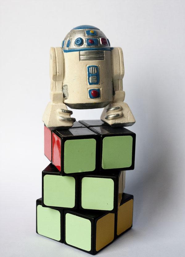 Rubik 2x2x3 R2-D2 Star Wars