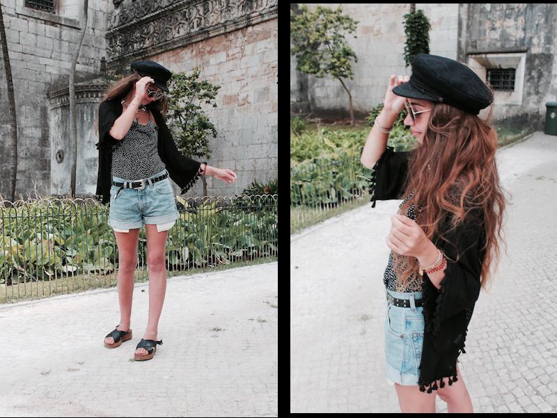 blog mode 2017 jean levis gilet bohème casquette de marin look vintage