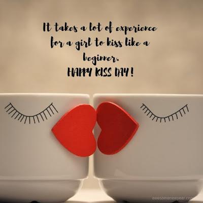 #KissDay Quotes for boyfriend
