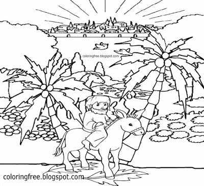 City Of Jerusalem Coloring Pages Coloring Pages