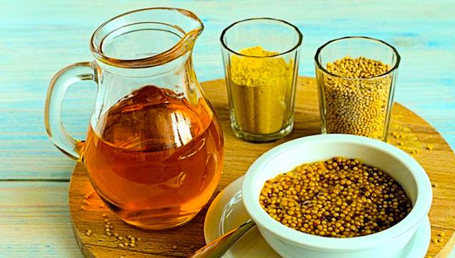 Mustard Essential Oil Healing Rub