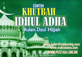 Contoh Teks Khutbah Idul Adha, Tema 3 Makna Utama Ibadah Haji
