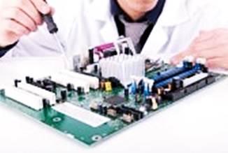 Gambar cara servis motherboard rusak atau mati