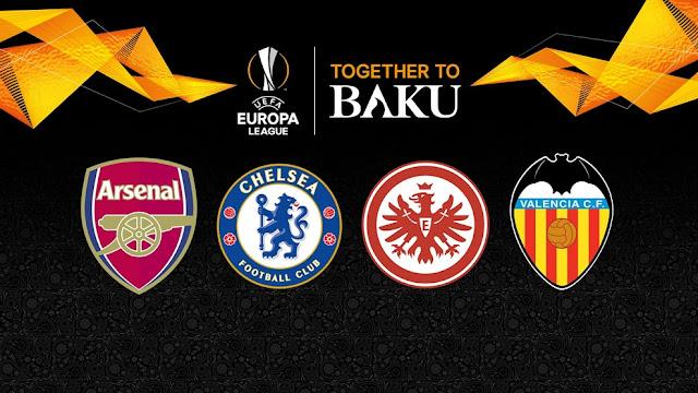 Liga Eropa 2019 – Arsenal dan Chelsea Berpeluang Bertemu di Final