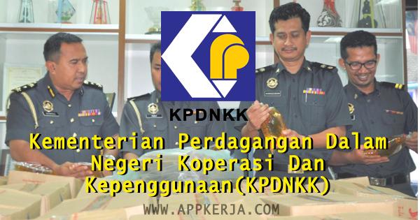 Kementerian Perdagangan Dalam Negeri Koperasi Dan Kepenggunaan(KPDNKK)