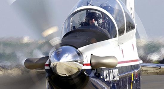 tc6 texan II  beechcraft avión entrenador