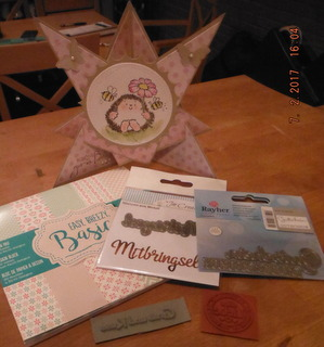 03/2017 Gewinn beim Mitmach-Candy bei Cathis kleine Bastelecke und der Karte Geburtstagsstern