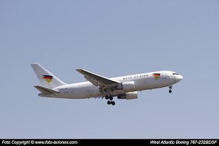 Boeing 767 SE-RLA