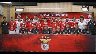 Plantel do Futsal do Benfica