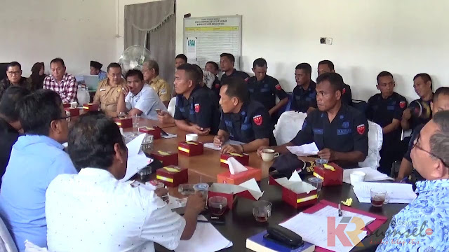 Puluhan Security PT SHG Adukan PT Triaryani Ke Komisi I DPRD Muratara