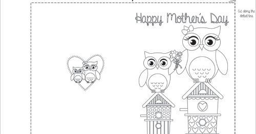 Mothers Day Card Template Share Happy MotherS Day Card Template