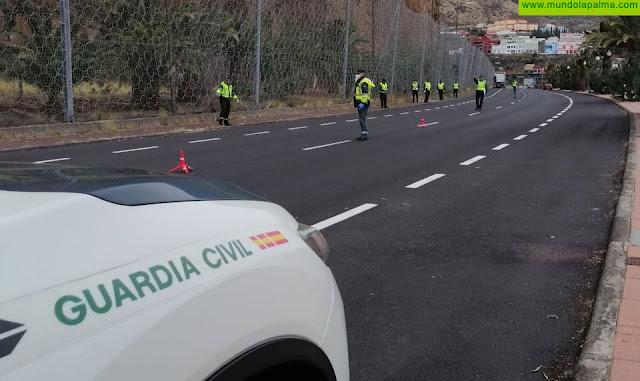 Policía y Guardia Civil controlan los desplazamientos de ciudadanos en toda la isla