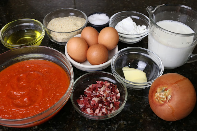 Ingredientes para huevos dobles