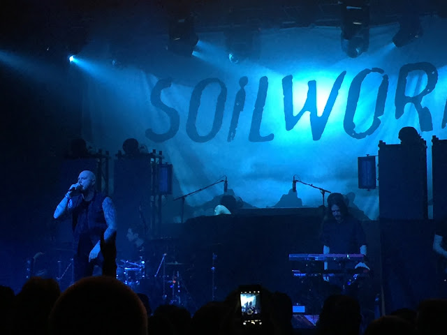 Soilwork live in Manchester February 2017