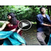 Cute girl dance with her lover wearig half saree.  Nice Dance Video