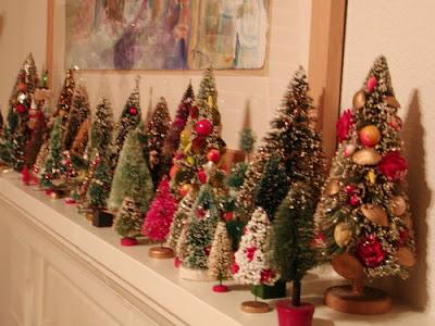 image vintage christmas decoration ideas christmas trees mantelpiece