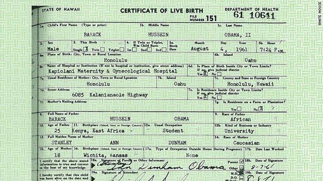 AverageBro: Breaking News! Obama Releases Long Form Birth