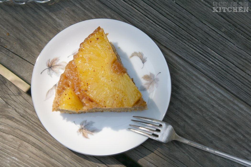 Pineapple, Cinnamon and Allspice Cake