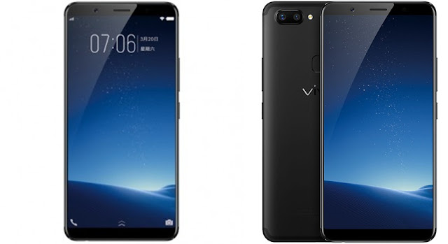 The Vivo X20 and X20 Plus.