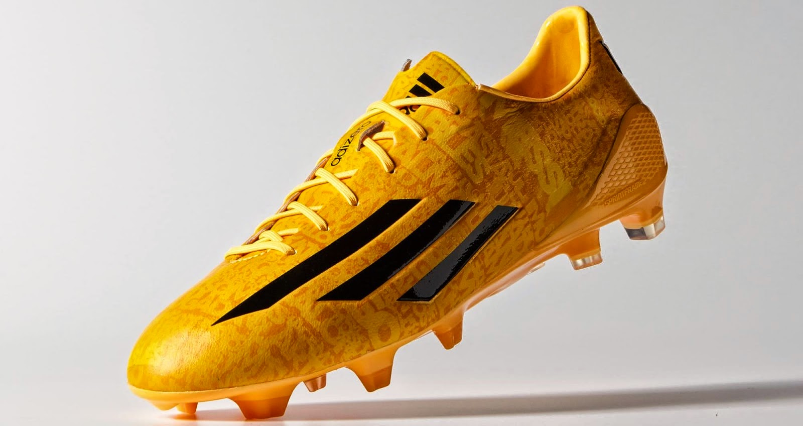d8c522d7c18 Adidas Adizero IV Lionel Messi Gold Edition