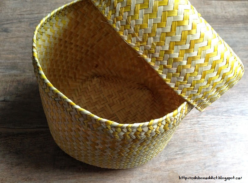 How To Weave A Coconut Leaf Basket : Globein artisan box review march eco conscious
