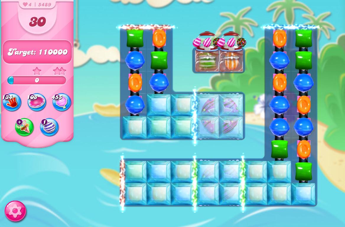 Candy Crush Saga level 5489