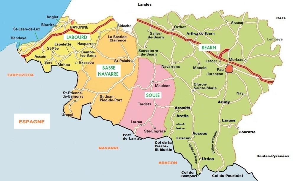 Orchid es du b arn carte pour l 39 inventaire des orchid es - Office du tourisme pyrenees atlantiques ...