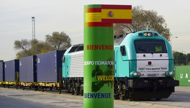"""""""Viaje para descubrir el tren Madrid-Yiwu"""", la línea de ferrocarril más larga del mundo"""