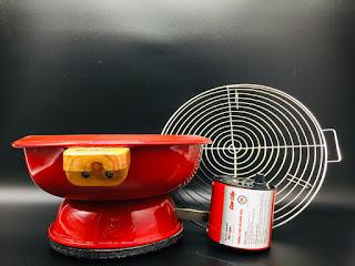 Bếp than quạt điện Dế Mèn