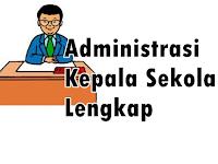 Contoh Administrasi Kepala Sekolah Lengkap Format Terbaru