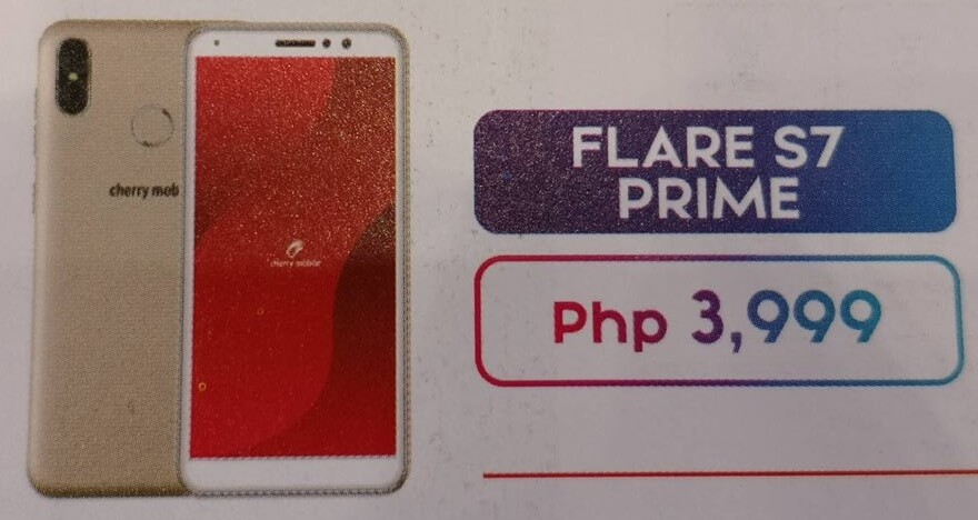 Cherry Mobile Flare S7 Prime Launched for Php3,999