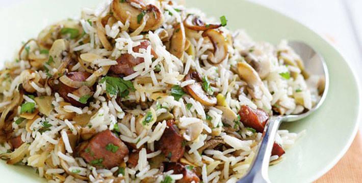 मशरूम पुलाव- पाककला | Mushroom Pulao - Recipe