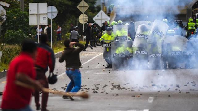 Estalla la violencia en paro de camioneros: Muere un manifestante colombiano