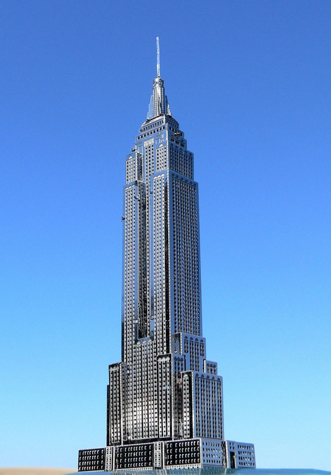 Empire State Building Model - Metal Earth - PE Model Kit Bonding - Best Glue - BSI Adhesives