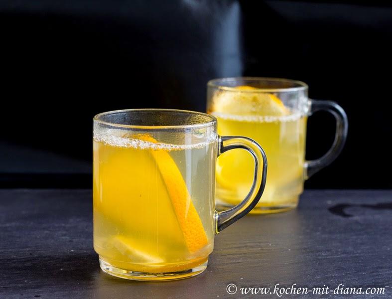 Ingwer-Orangen-Tee