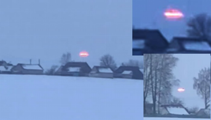 ¿Se trata de un verdadera Nave Extraterrestre? OVNI captado en Bielorrusia